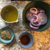 Marinated Onions